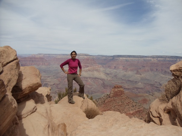 Spring 2012 - Backpacking the Grand Canyon.