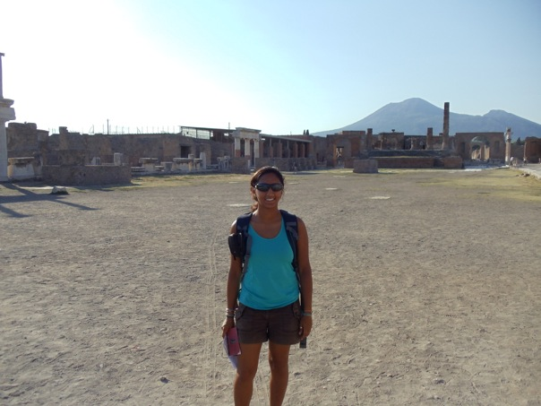 July 2012 - Ruins of Pompeii, Italy.
