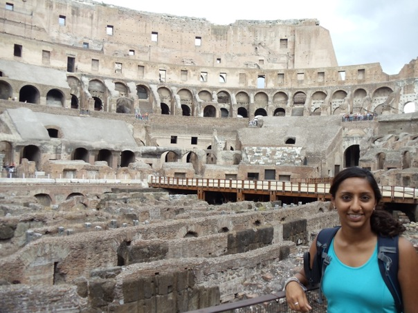 July 2012 - Colosseum, Rome, Italy.