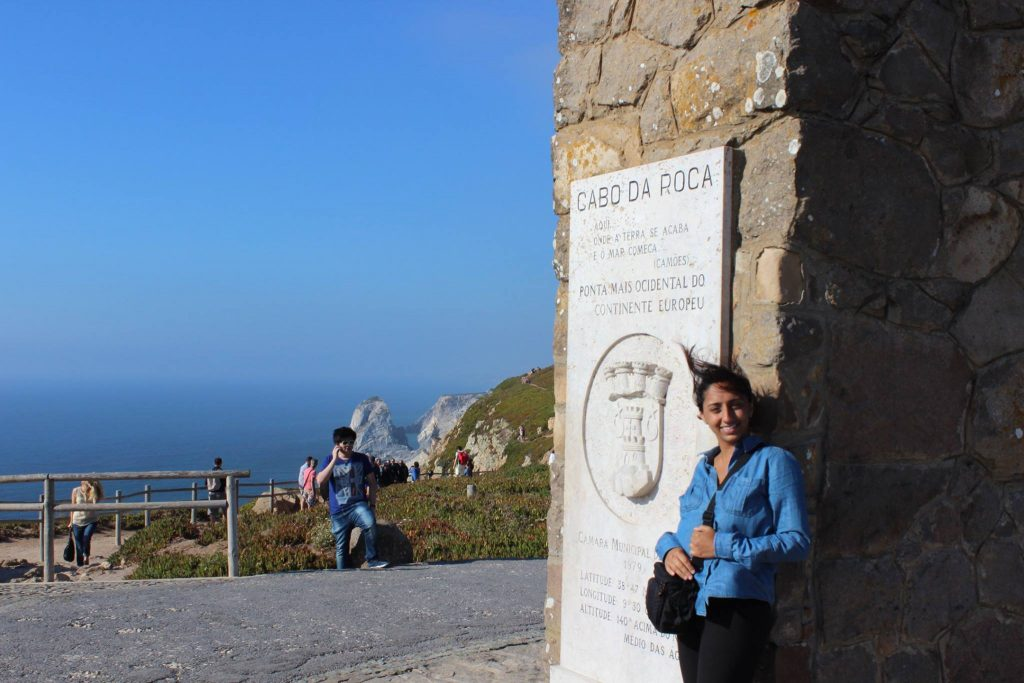 July 2014 - Cabo da Roca, the Westernmost Point in Europe.