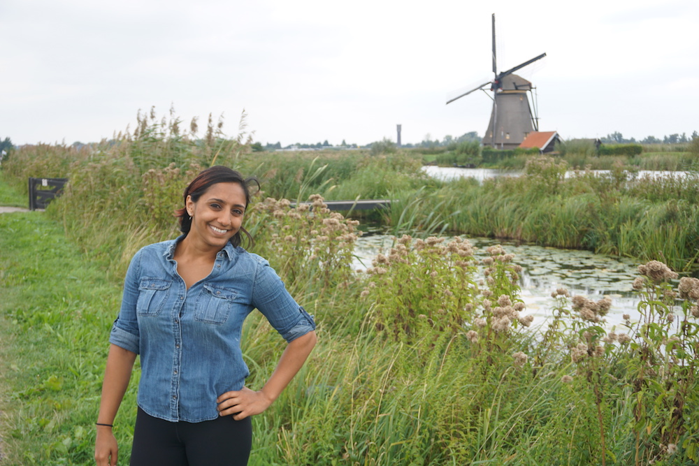 Sept 2016 - Checking out windmills in The Netherlands.