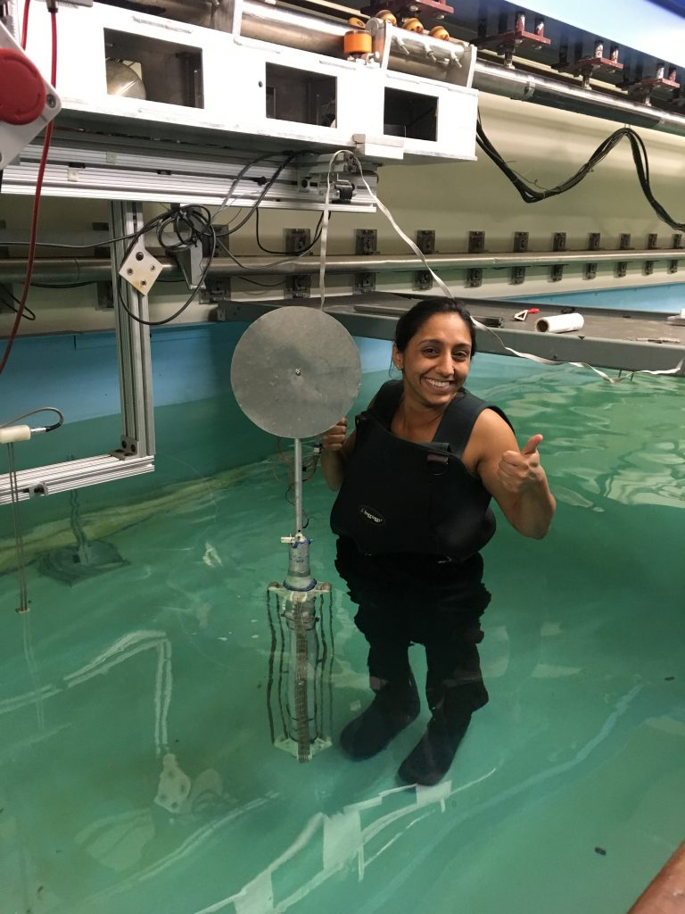 March 2017 - Running experiments in the MIT Tow Tank.