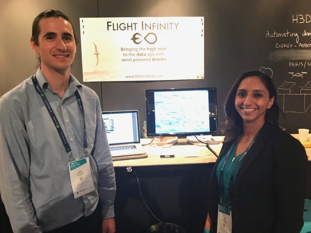 October 2017 - Representing Flight Infinity as one of the 500 Deep-Tech Startups at Hello Tomorrow in Paris, France.